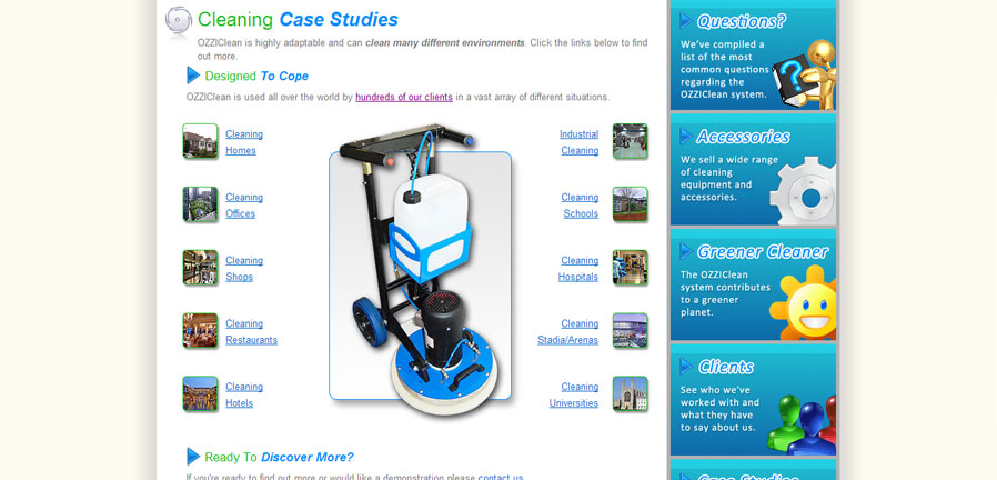 UK Cleaning Systems Case Studies